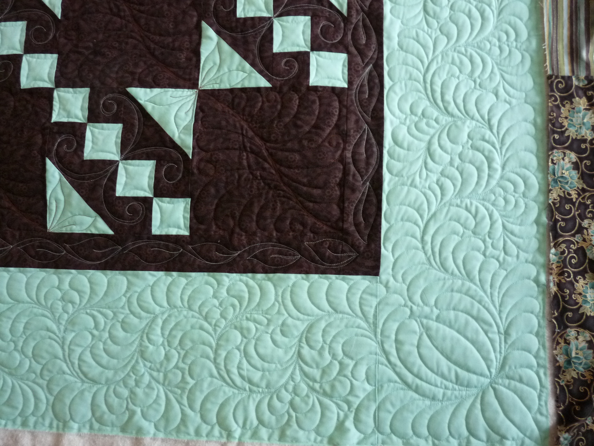 Quilting Designs Sashing : Border & Sashing Designs at Mainely Quilts of Love