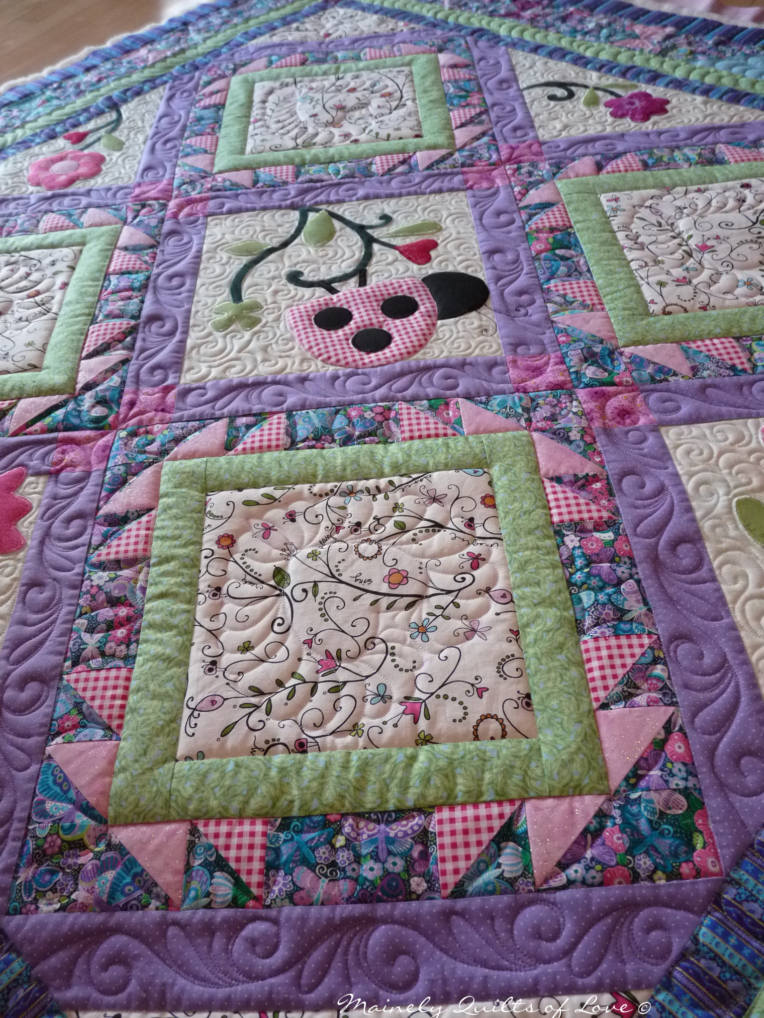 Modern Quilts Unlimited Magazinelusions Pattern Now Available In