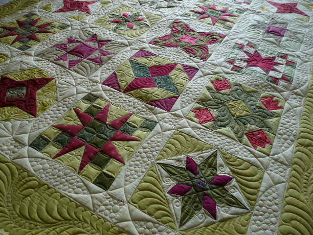 Star Sampler Quilt At Mainely Quilts Of Love