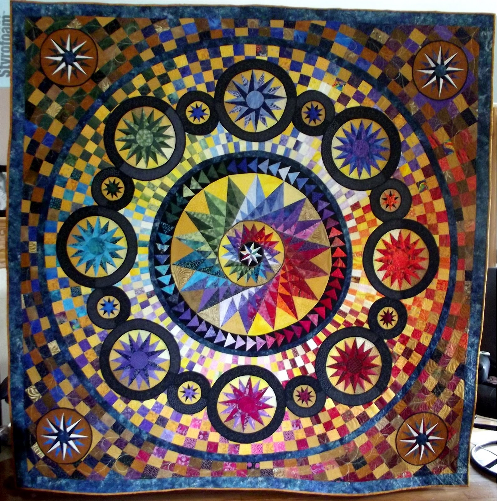 Journey To The Stars At Mainely Quilts Of Love