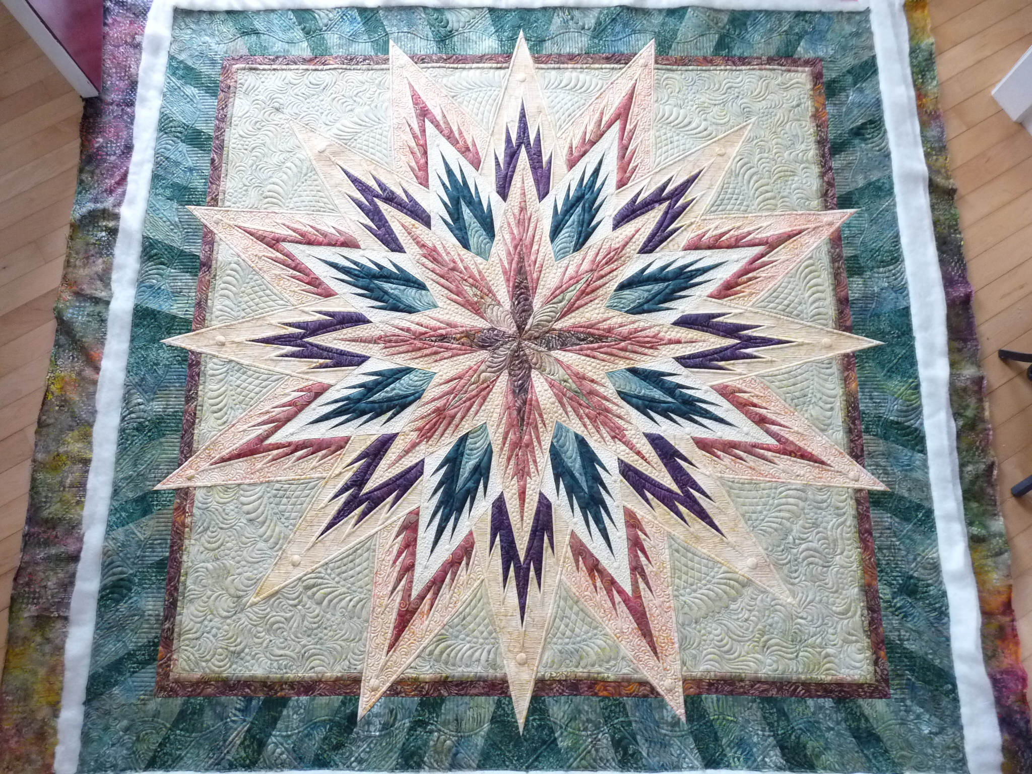 Feathered Star at Mainely Quilts of Love : feathered star quilts - Adamdwight.com